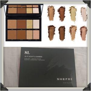 NIB8L Lo-Fi Sculpt & Shimmer Palette for fair skin